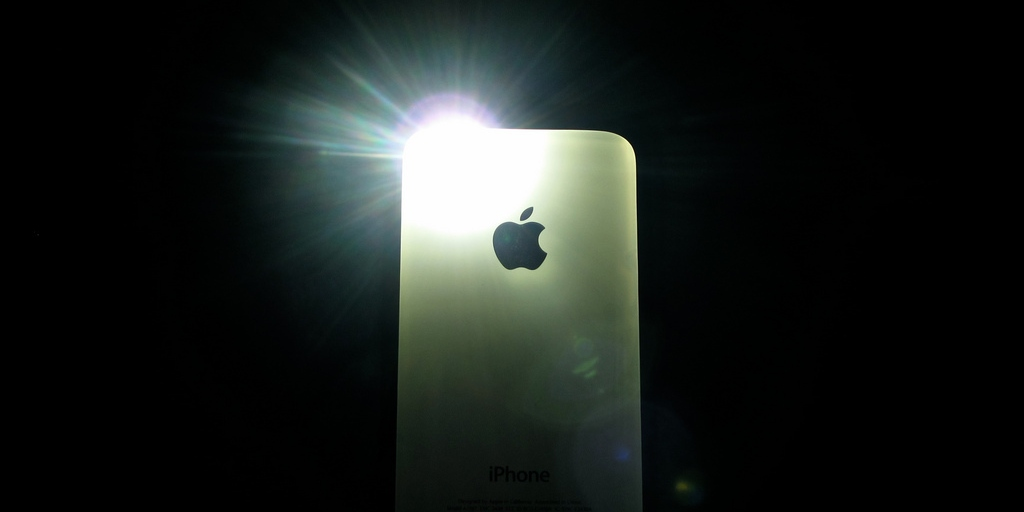 Iphone  Flashlight App
